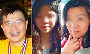 Bác sĩ Malaysia đầu độc vợ và con gái bằng quả bóng trong xe hơi
