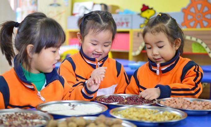 Trẻ em tại một trường mầm non ở tỉnh Hợp Phì, Trung Quốc. Ảnh minh họa: ECNS.