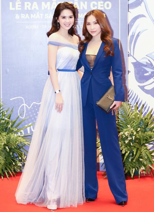 Diễn viên Quỳnh Thư mừng cô bạn thân trở thành tân Giám đốc điều hành.