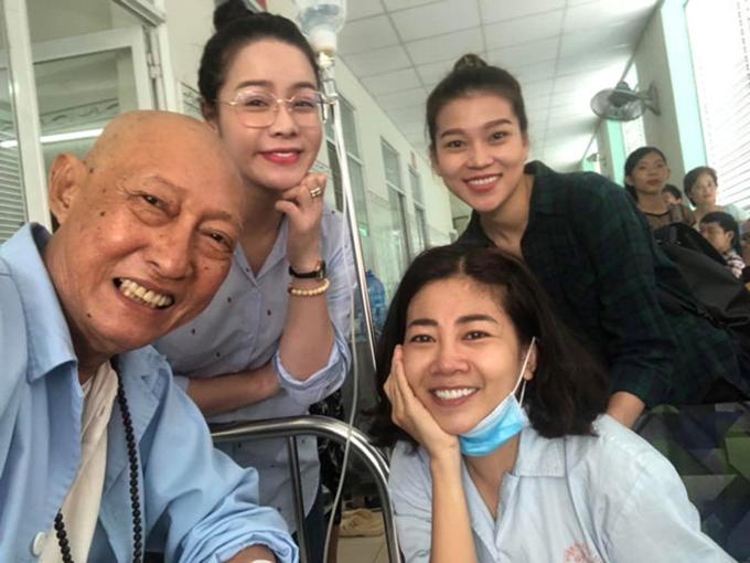 Lê Bình và Mai Phương đều mắc bệnh ung thư phổi và gặp nhiều khó khăn về kinh tế.