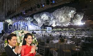 Không gian tiệc cưới đầy pha lê của Trường Giang - Nhã Phương