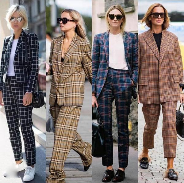 Những cô nàng sành điệu hẳn còn nhớ, họa tiết kẻ sọc ca rô từng gây sốt với mốt áo blazer cổ điển ở mùa thu đông 2017. Trở lại mùa thời trang mới, chúng tiếp tục tạo nên sự mê hoặc bởi sắc màu mới.