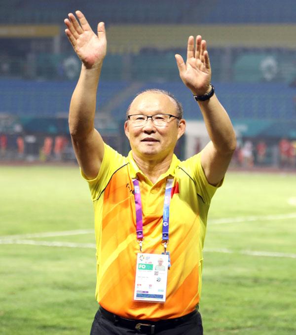 HLV Park Hang-seo đánh giá Hazard cao nhất. Ảnh: Đức Đồng.