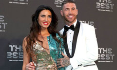 Danh thủ đưa người tình 'xinh như mộng' đến lễ trao giải The Best