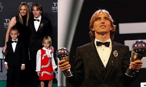 Modric vượt qua C. Ronaldo giành giải The Best