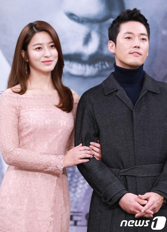 Jang Hyuk và bạn diễn Park Se Young.