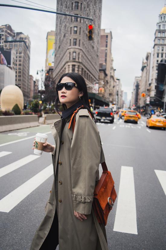 Sau khoảng thời gian sinh em bé và chăm lo cho gia đình, Kha Mỹ Vân đã quyết định xả hơi bằng kỳ nghỉ ở New York.