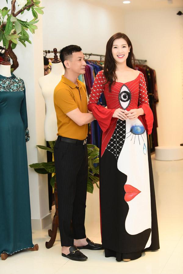 Hoa hậu Áo dài 2018 Phí Thùy Linh