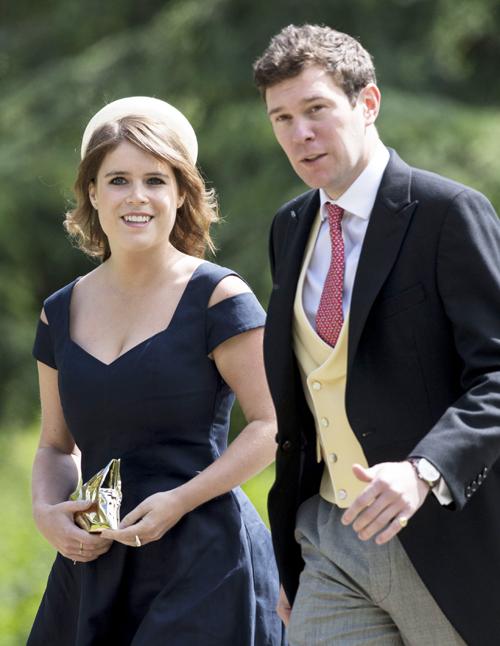 Công chúa Eugenie và vị hôn phu Jack Brooksbank đã có 8 năm gắn bó.