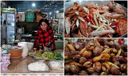 Một ngày ăn uống no nê trong chợ hải sản chế biến tại chỗ ở Sài Gòn
