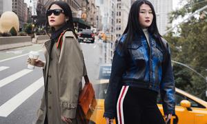 Kha Mỹ Vân khoe street style trên phố New York