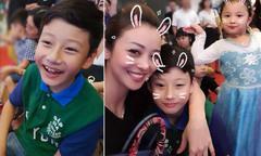 Bảo Nam lần đầu đón Trung thu cùng mẹ và em gái tại Việt Nam
