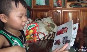 Người mẹ Hà Tĩnh đánh vật học tiếng Anh để nói chuyện với con trai 5 tuổi