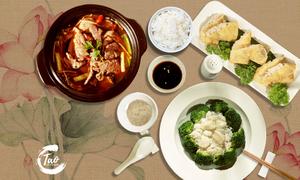 Nhà hàng C.TAO giới thiệu hai set ăn Trung Hoa chỉ 69.000 đồng