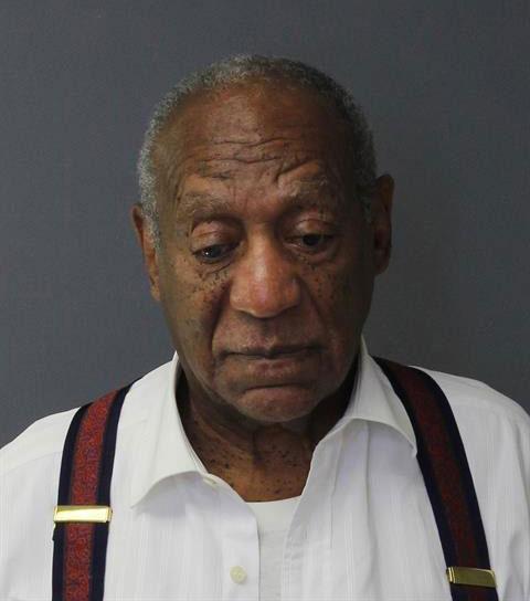 Danh hài Bill Cosby khi đi thụ án vào ngày 25/9.