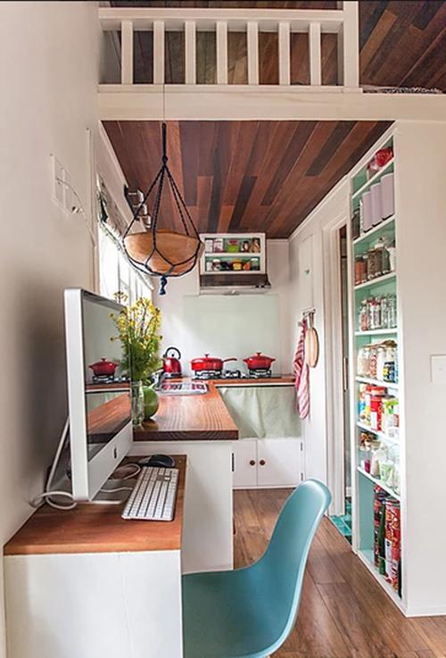 Kiến trúc sư thiết kế ngôi nhà này dành cho người độc thân, hoặc cặp tình nhân, đôi vợ chồng trẻ.