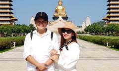 Chàng Điền phim 'Cánh đồng bất tận' du hí Đài Loan cùng vợ đẹp