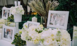 Tiệc cưới minimalist của uyên ương đến từ TP HCM
