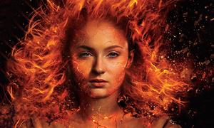 Jean Grey đối đầu các X-Men trong 'Dark Phoenix'