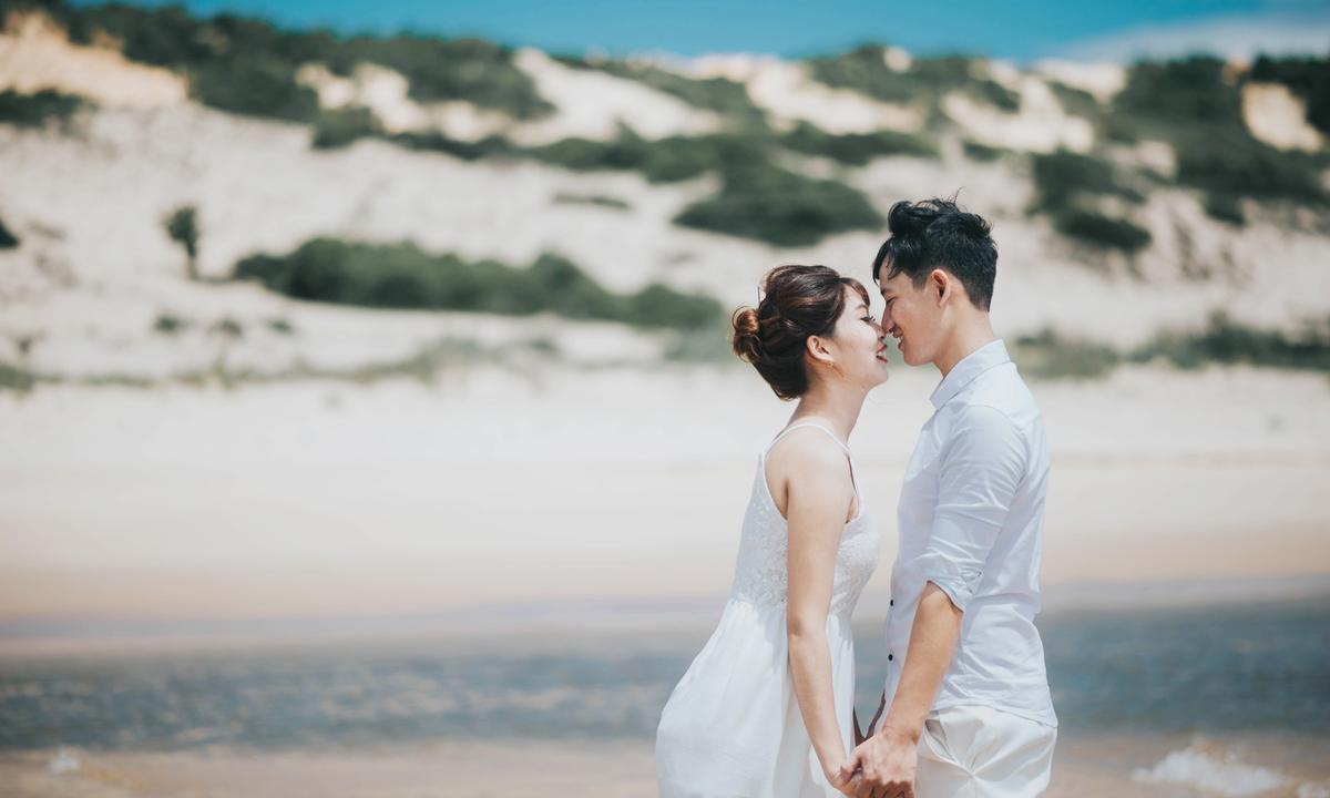 Kết quả hình ảnh cho ảnh cưới biển mũi né