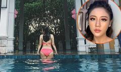 Văn Mai Hương mặc bikini trong ngày sinh nhật 24 tuổi