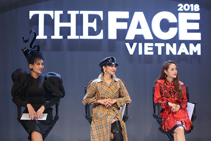 Võ Hoàng Yến liên tục chặt chém Minh Hằng trong tập 1 The Face