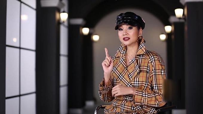 Võ Hoàng Yến liên tục chặt chém Minh Hằng trong tập 1 The Face - 6