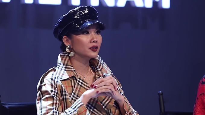 Võ Hoàng Yến liên tục chặt chém Minh Hằng trong tập 1 The Face - 5
