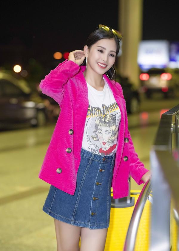 Sau khi trở về, Tiểu Vy sẽ bắt tay vào quá trình chuẩn bị cho cuộc thi Miss World 2018 mà cô sẽ lên đường dự thi vào giữa tháng 11 tới.