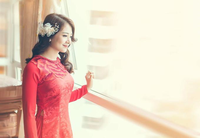 5 bí quyết chọn áo dài cưới cho cô dâu gầy, mảnh mai - 1