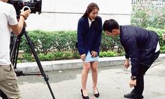 Song Luân thấy áp lực khi đóng cảnh xé váy Khả Ngân