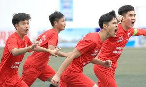 91 đội dự giải bóng đá học sinh Hà Nội lần thứ 18