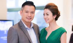 Jennifer Phạm sóng đôi ông xã doanh nhân đi sự kiện