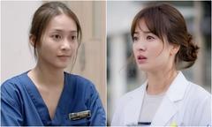 Sao nữ 'Hậu duệ mặt trời' bản Việt mất điểm vì lối makeup nhợt nhạt