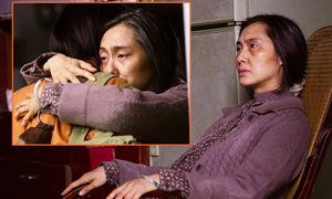Người đẹp Chu Ân hóa bà lão tiều tụy trong phim kinh dị
