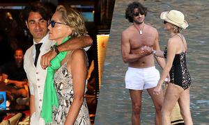 Sharon Stone say trong tình yêu với bạn trai kém 20 tuổi