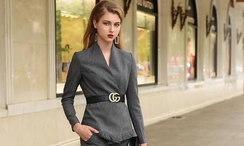 Mặc suit cá tính mà vẫn thanh lịch như nữ công sở