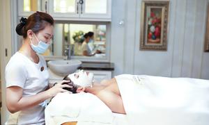 Tân Hoa hậu nước Áo trải nghiệm dịch vụ làm đẹp ở Việt Nam