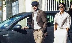 Becks dự sự kiện ra mắt xe của Vinfast ở Paris