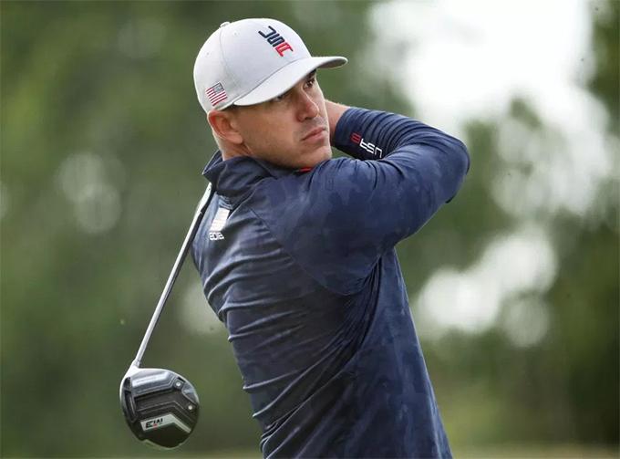 Tay golf Brooks Koepka. Ảnh: AFP.