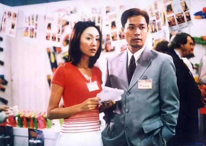 Quách Khả Doanh và Quách Tấn An trong một cảnh phim của phần 1 Thử thách nghiệt ngã. Ảnh: Sinchew
