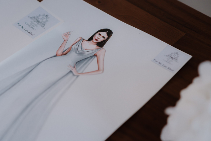 Thiết kế lấy cảm hứng từ những chiếc váy cưới nổi tiếng thế giới.