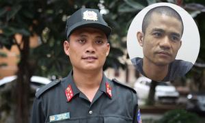 Đại úy cơ động dùng đòn tâm lý thuyết phục kẻ ôm lựu đạn cố thủ