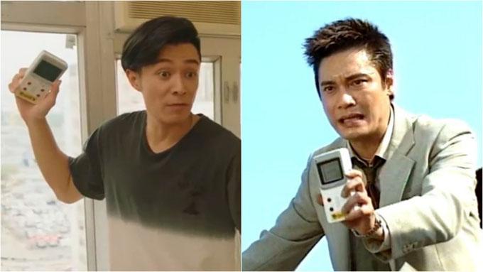 Chiếc máy điện tử cầm tay xuất hiện trong phim Câu chuyện khởi nghiệp và Thử thách nghiệt ngã. Ảnh: HK01