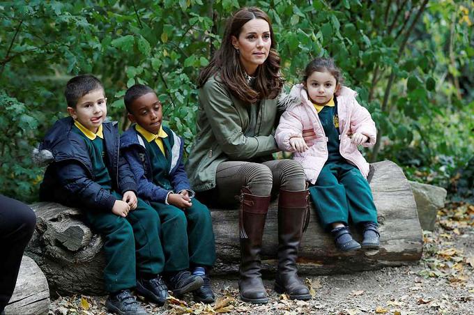 Tất cả các em bé đều tự nhận là những người hâm mộ nhỏ tuổi của Nữ công tước xứ Cambridge.