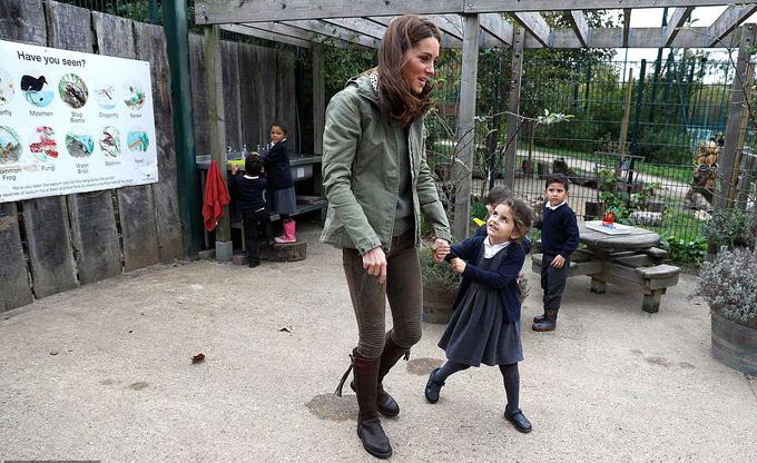 Sự kiện lần này Kate tham dự là dự án giúp trẻ em khu vực nội thành có cơ hội tìm hiểm, tham quan thế giới tự nhiên, điều hiếm khi các em được làm.
