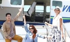 Hồ Ngọc Hà bay thủy phi cơ ra Hạ Long cùng giám khảo Asia's Next Top