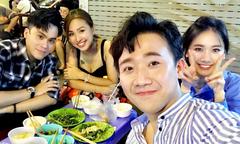 Ảnh hot 3/10: Vợ chồng Trấn Thành đi ăn đêm cùng Vân Hugo