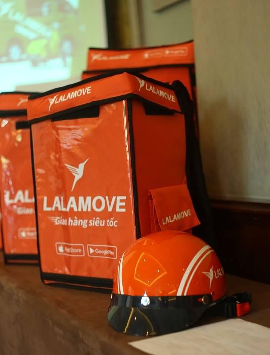 Những trang thiết bị cơ bản để Lalamove xây dựng shipper thành một nghề toàn thời gian.