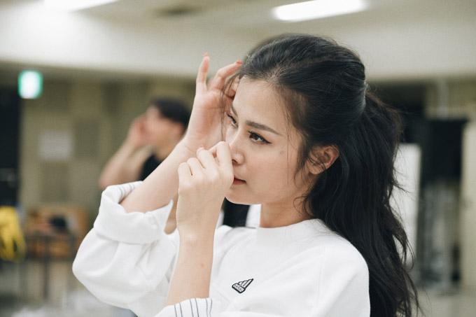 Đông Nhi tập luyện trước giờ biểu diễn tại Japan Music Festival 2018 - 5